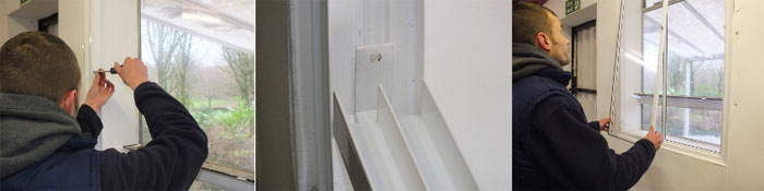 Sliding Aluminium Secondary Glazing